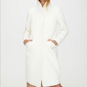 Aritzia Wilfred Cocoon Coat Long